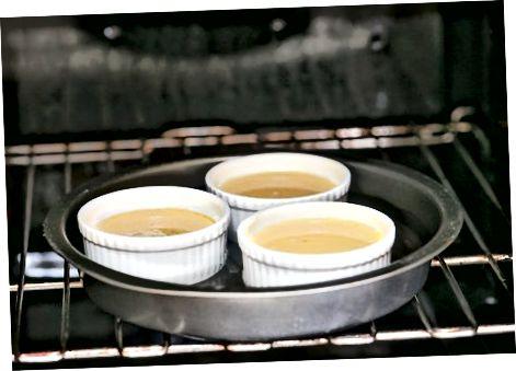 Baking the Flan