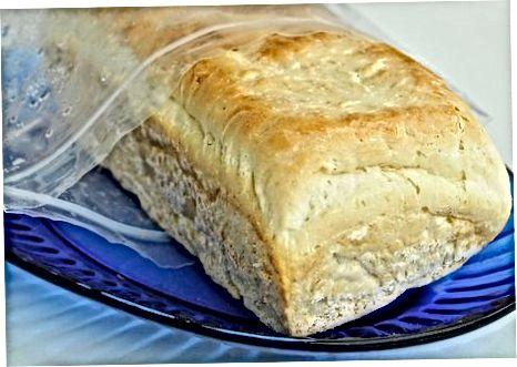 Ngrirja e bukës së pjekur në shtëpi