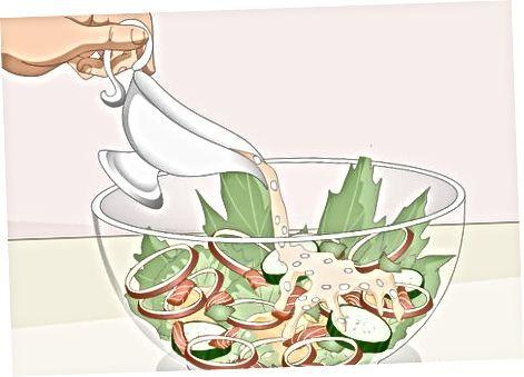 Limon-sarimsoqli Tahini sousini tayyorlash