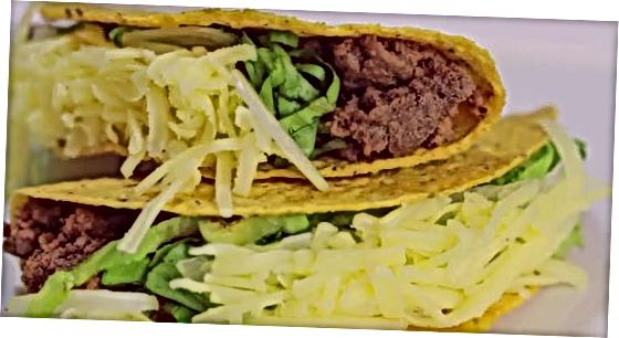 Tacos prieskonių naudojimas