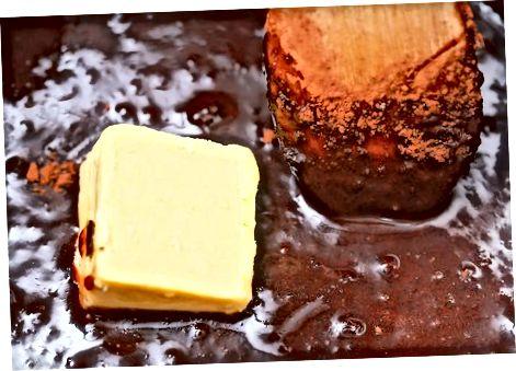 Ko'p tarkibiy shokolad sosini tayyorlash