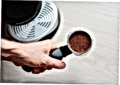 Espressoni Espresso mashinasida qilish