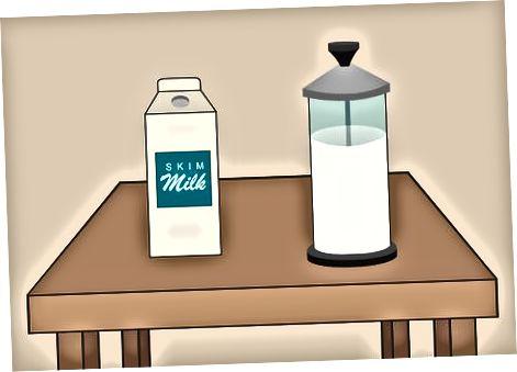 दूध चुनना और तैयार करना