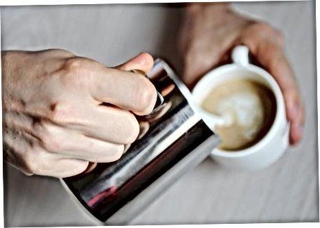 Espresso yordamida ichimliklar tayyorlash