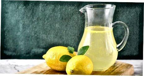 Lage en konserverbar sitronsirup