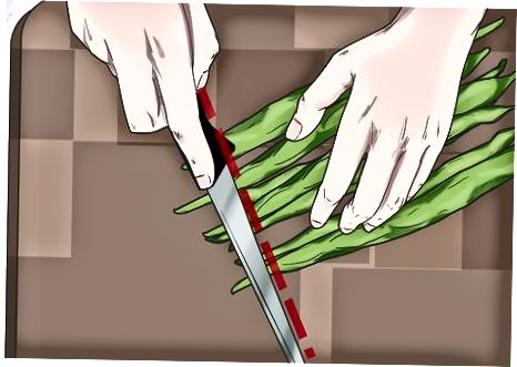 Резање и стругање пасуља