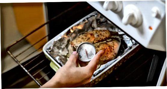 Pečenje purane prsi v pečici