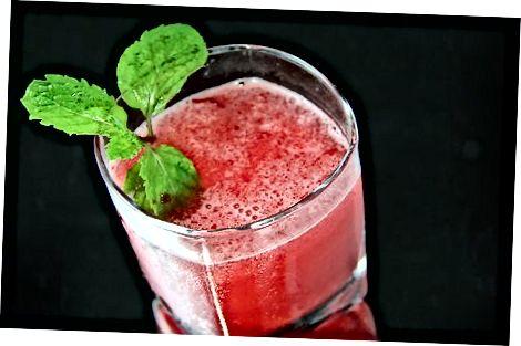 Muzlatilgan Cherry Mojito