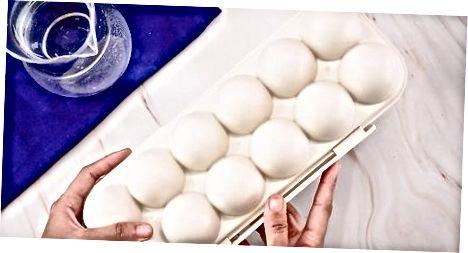 Improvisando com uma caixa de ovos