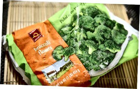 Keetke külmutatud brokkoli