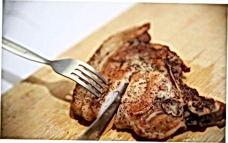 Katsetamine puudutamise ja liha sisse lõikamise teel