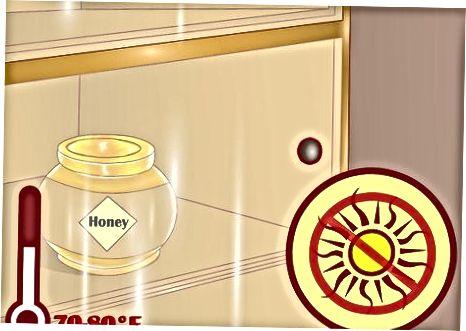 אחסן דבש כראוי