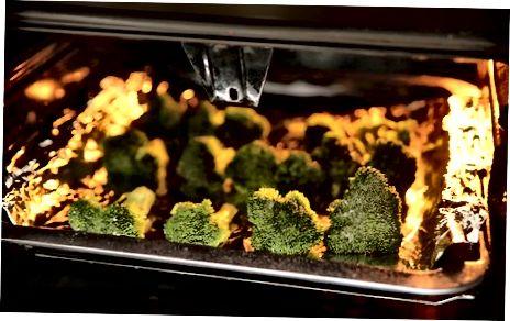 Röstitud brokkoli