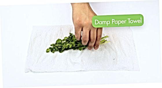 Toalhas de papel úmidas