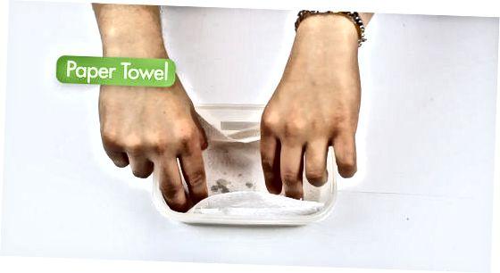 Toalhas de papel seco