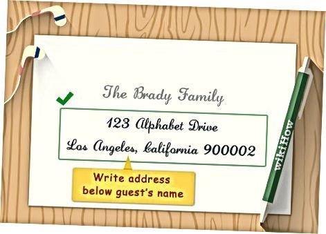 Aadressiteabe täitmine