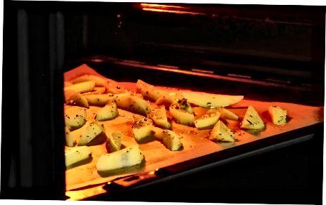 Печење помфрит у рерни