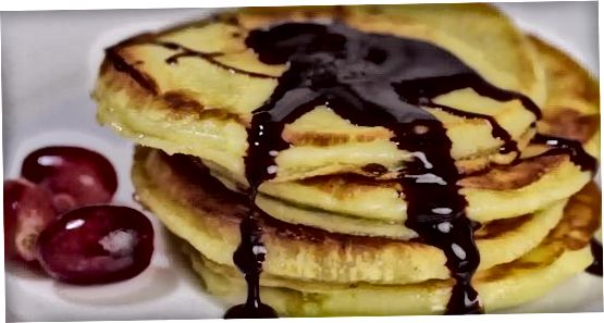 Pancakes uchun retsept