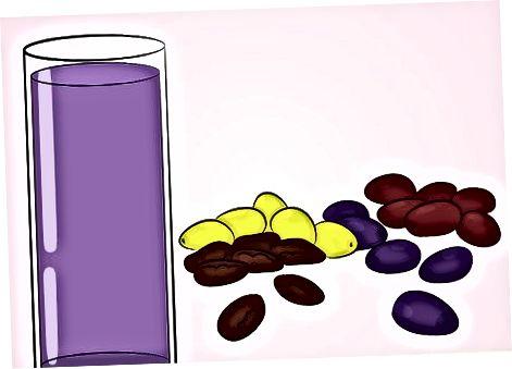 Ngrënia e një larmie të produkteve rrushi