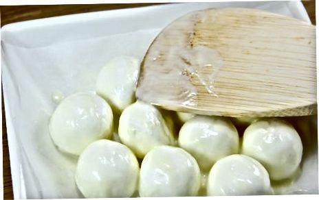 Изготовление коры зефира