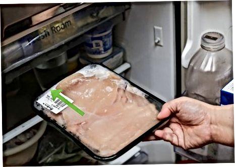 Auftauen von Fleisch im Kühlschrank