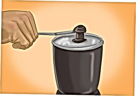 2. корак: самљети пасуљ