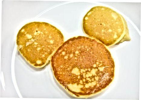 Pancakesning ko'proq turlari