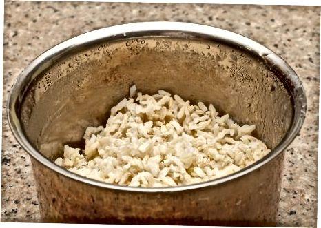 Pudim de arroz com coco