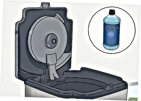 Čiščenje rezervoarja za vodo