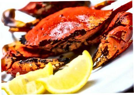 Barbequed Crab
