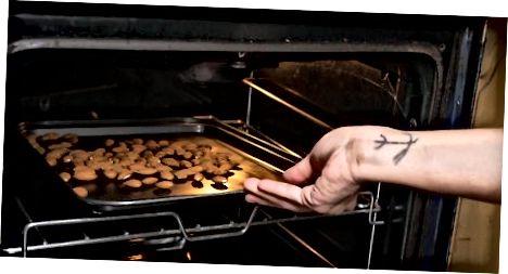 オーブンでローストしたアーモンドを作る