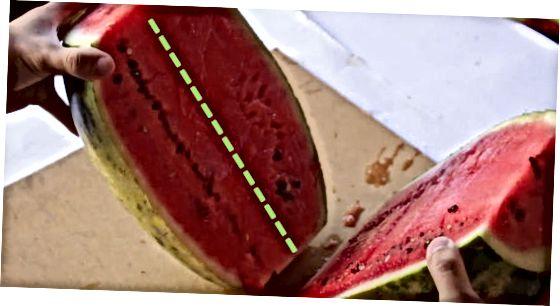 ใช้ Melon Baller