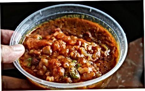 Britse currysaus maken