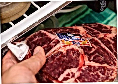 Chuck biftekini tanlash va xizmat qilish