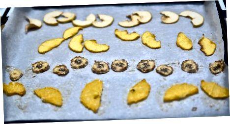 Trockenfrüchte kühlen und lagern