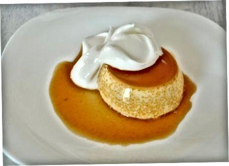 Custard Caramel Pudding maken