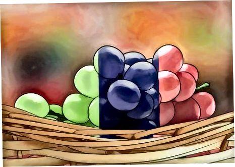 Hinnatakse, kas viinamarjad on küpsed ja tervislikud