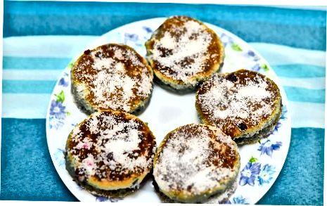 Virkite sausainius ant keptuvės