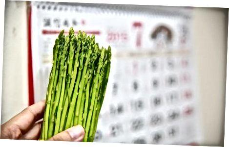 Zgjedhja dhe ruajtja e asparagusit