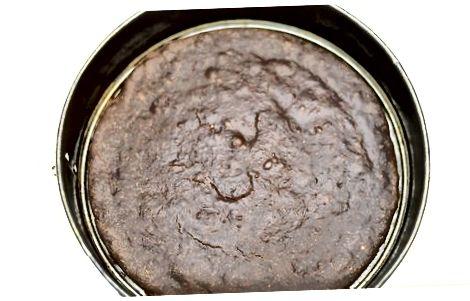 Shokolad kekini pishirish