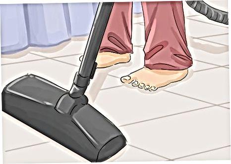 पार्टी के बाद सफाई