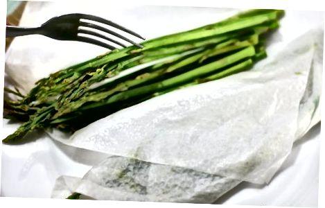 Mënyrat alternative për të shërbyer asparagus