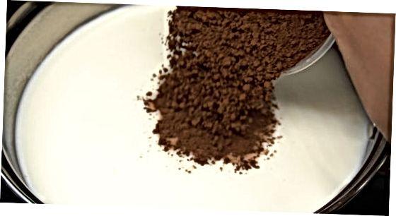 Shokolad pudingini pishirish