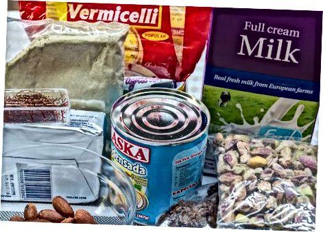 Making Vermicelli Kheer