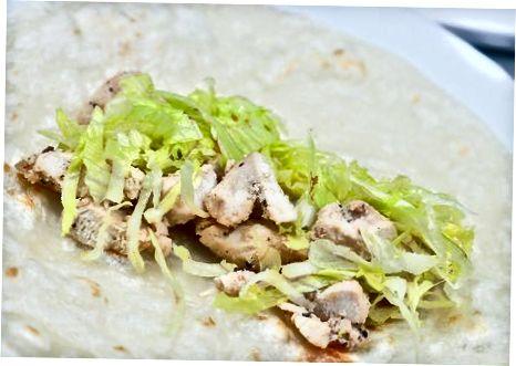 Achchiq tovuq shawarma