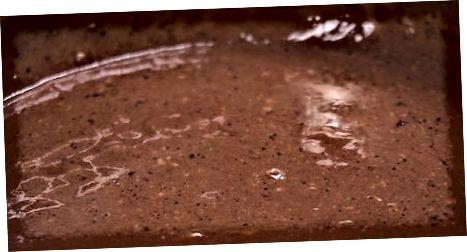 בישול פודינג שוקולד