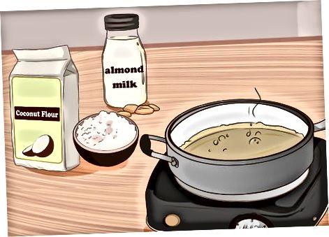 Elaborar alternatives baixes en carbohidrats per a salses comunes