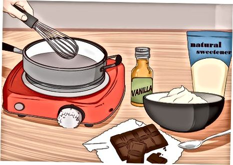 Creació de salses de postres amb carbohidrats baixos