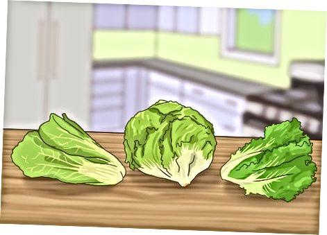 Salatani past xolesterolli ko'katlar bilan qilish