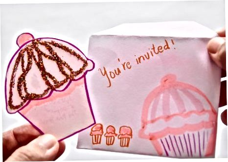 """""""Cupcake"""" formos kvietimai"""